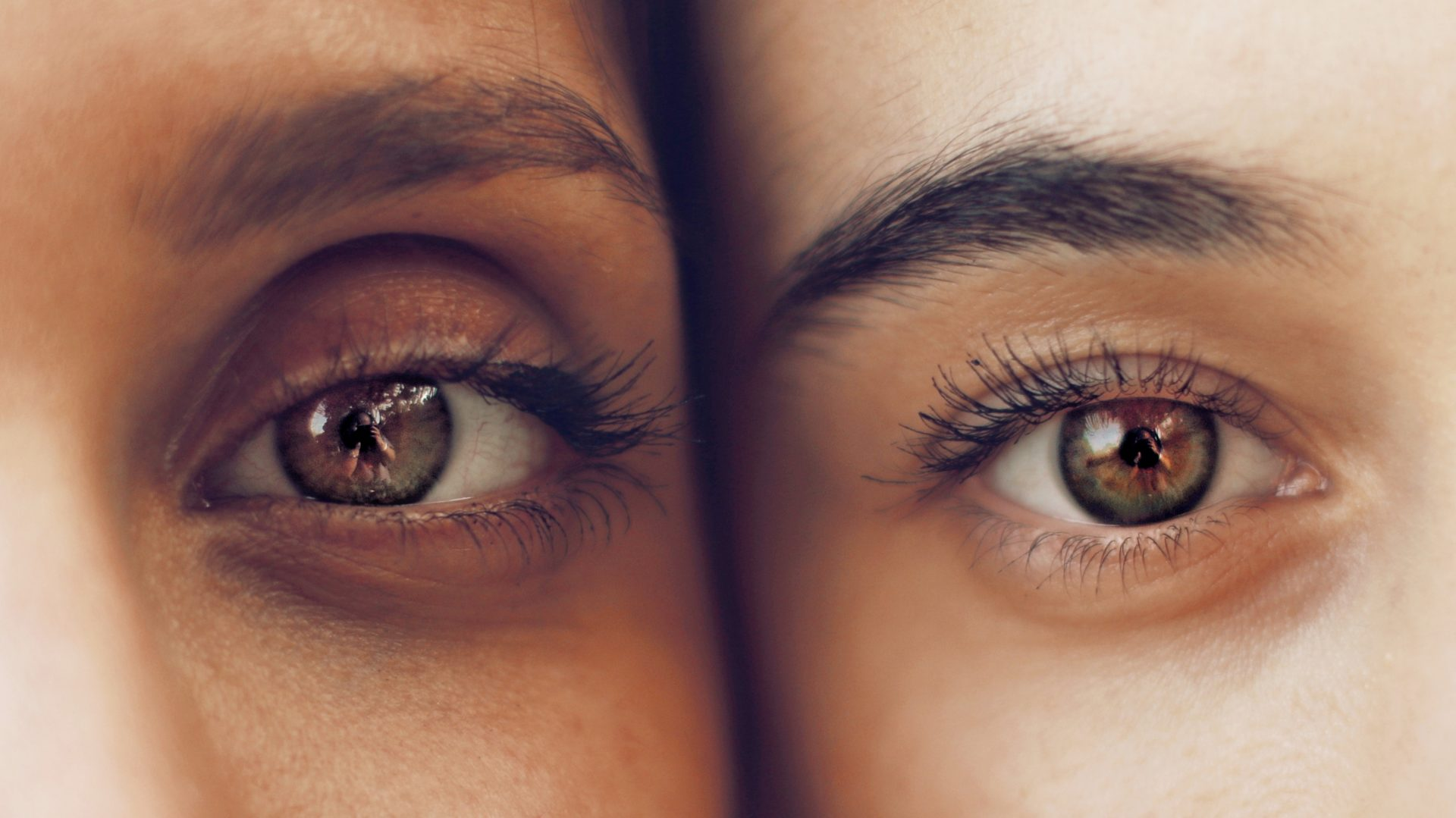 Two Eyes from different friends