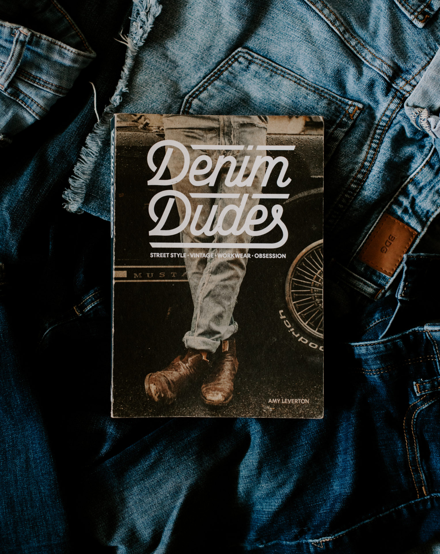 Denim Dudes Book Coffee Table Book Inspiration